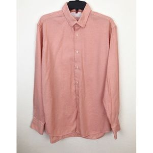 Luchiano Visconti Long Sleeve Cotton Button Down